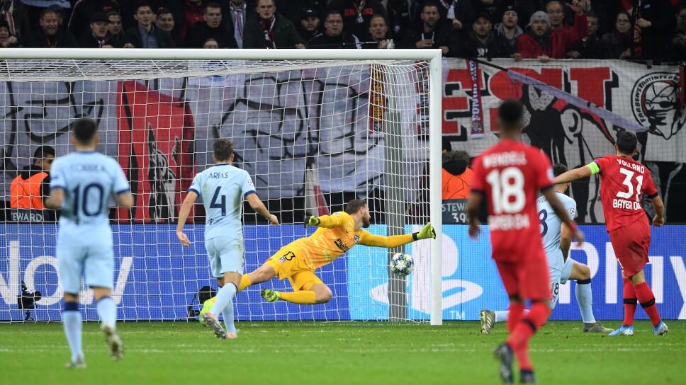 Bayer Leverkusen vs Atlético de Madrid