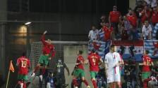 Portugal v Luxembourg - Cristiano Ronaldo festeja un gol.
