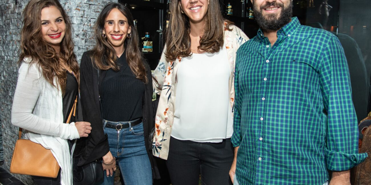 Darcet Preciat, Natalia Mejía, Marina Vitorica e Iker Estebane