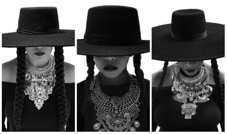 Tina Knowles/ Blue Ivy Carter/ Serena Williams