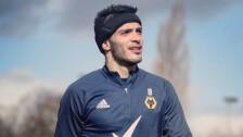 Raúl Jiménez vuelve a los entrenamientos con el Wolverhampton