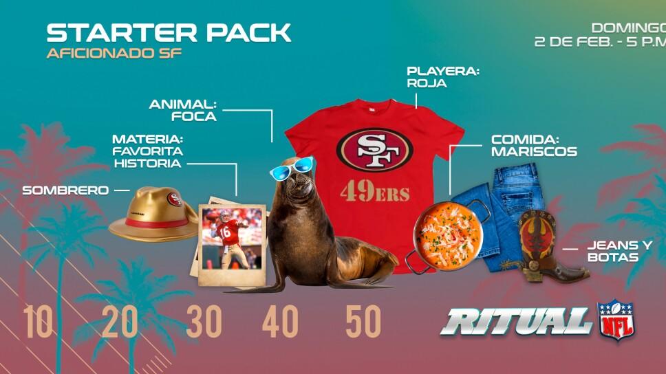 San Francisco Starter Pack Fan
