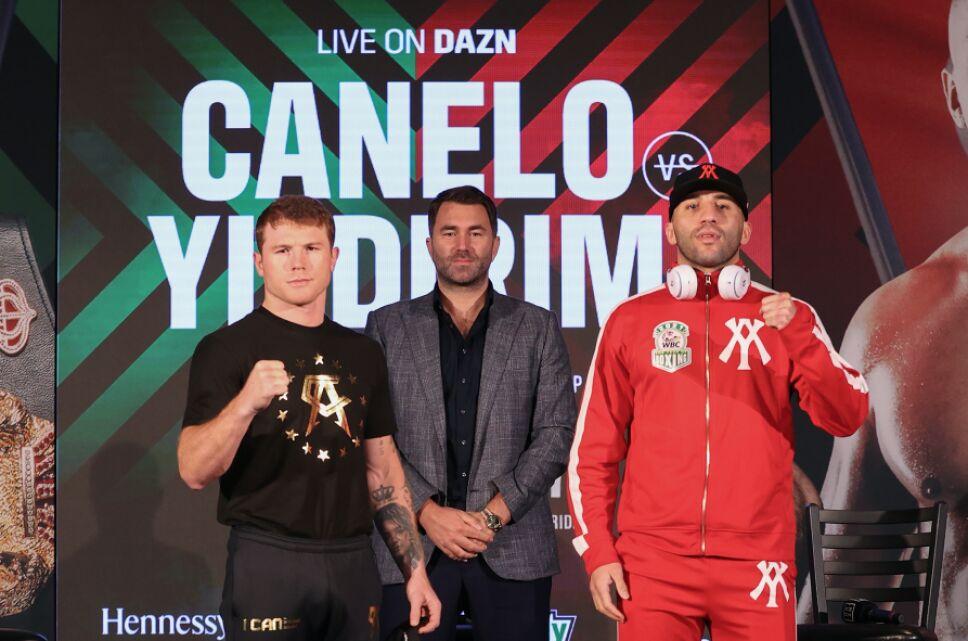 Canelo Álvarez vs Avni Yildirim pelea