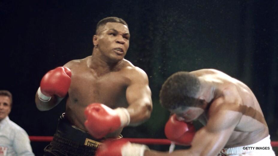 Mike Tyson, el peso pesado más joven en ser campeón mundial