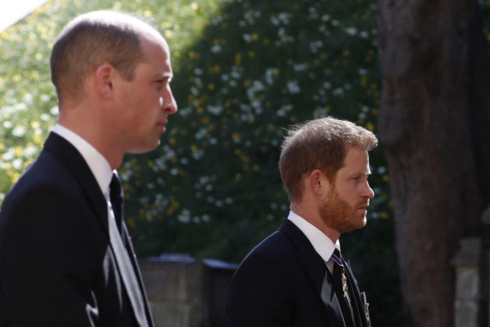 Este fue el regaño de la Reina Isabel II para William y Harry antes del funeral de Felipe de Edimburgo