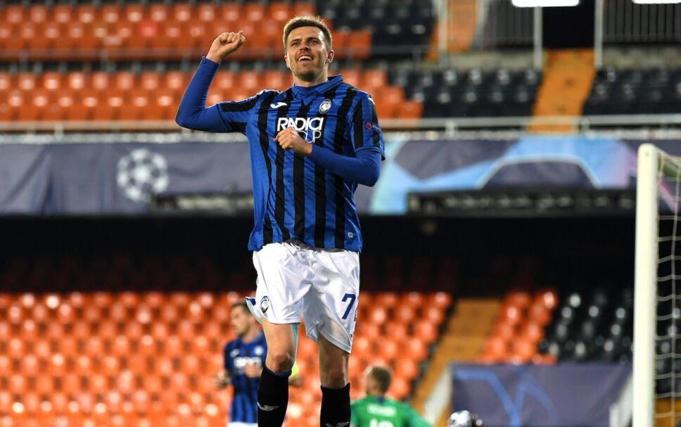Iličić anotó 4 goles en los octavos de final de Uefa Champions League ante el Valencia
