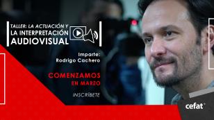 Rodrigo Cachero La Interpretación Audiovisual