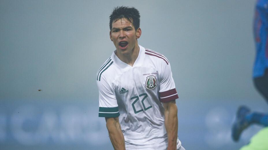 Hirving Lozano, Selección Azteca