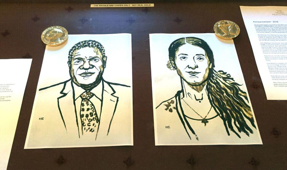 Denis Mukwege y Nadia Murad reciben el Nobel de la Paz