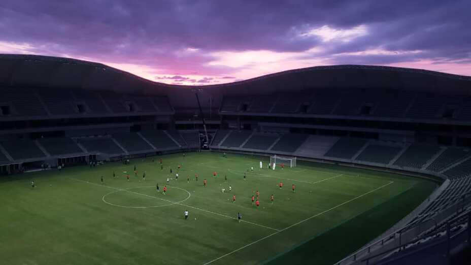 Bella panorámica del Estadio de Mazatlán F.C.