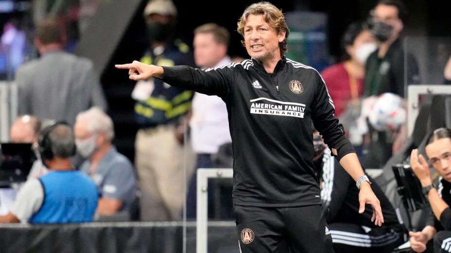 Gabriel Heinze es despedido del Atlanta United
