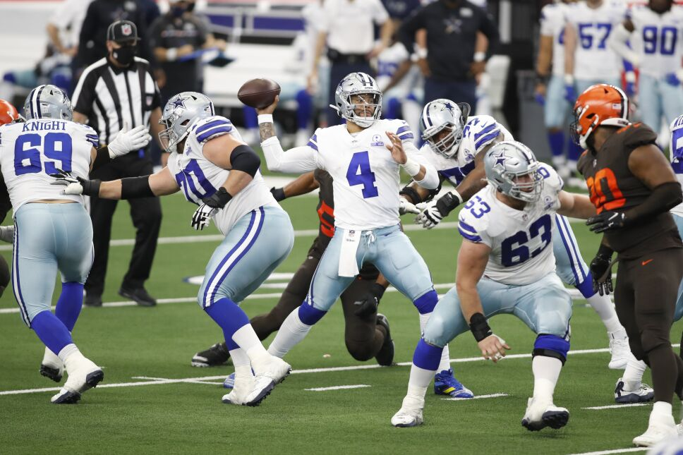 NFL: Cleveland Browns at Dallas Cowboys