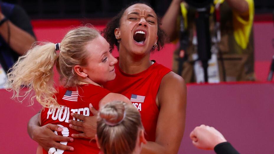 Estados Unidos medalla de oro voleibol Tokio 2020