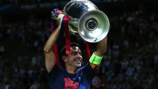 El '8' del Barcelona levantó 4 orejonas con el equipo culé. Xavi fue pieza fundamental para la obtención del 'sextete' con uno de los mejores equipos de la historia.