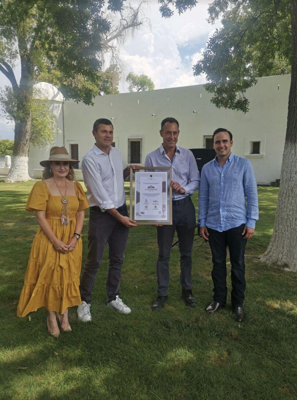 Casa Madero celebra 424 años