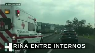 Riña en penal de Morelos deja dos muertos y 10 lesionados