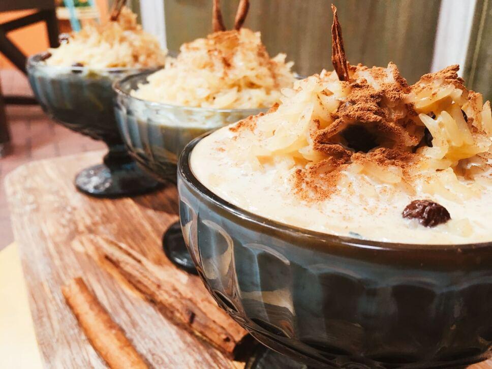 arroz con leche, cocineros mexicanos