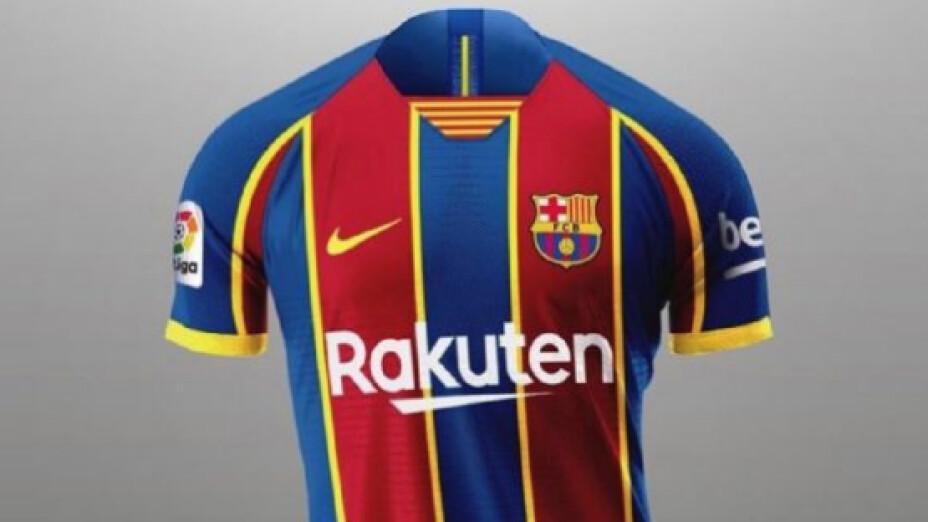 El nuevo jersey del Barcelona