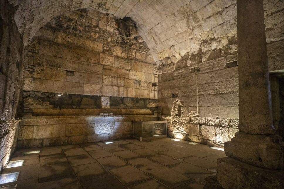 Descubrimiento en Israel abre nueva ruta en los túneles del Muro de los Lamentos