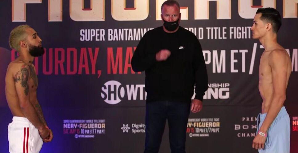 Luis Pantera Nery vs Brandon Figueroa pesaje