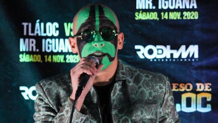 Mr. Iguana luchador