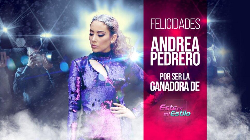 Andrea Pedrero Este es mi estilo