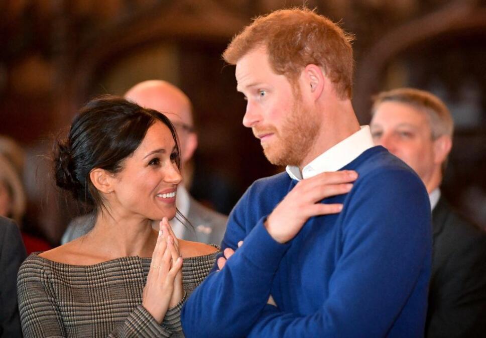 Meghan Markle y el príncipe Harry / Foto: Especial