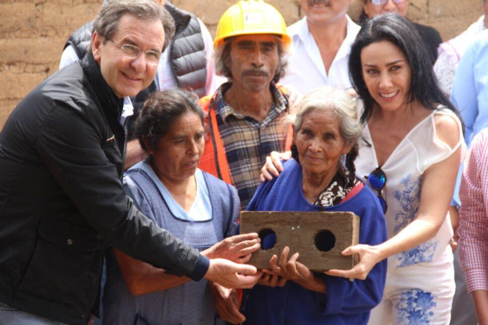 María Laura Salinas en San Simonito, Estado de México.