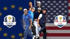 Inicia la Ryder Cup de golf.