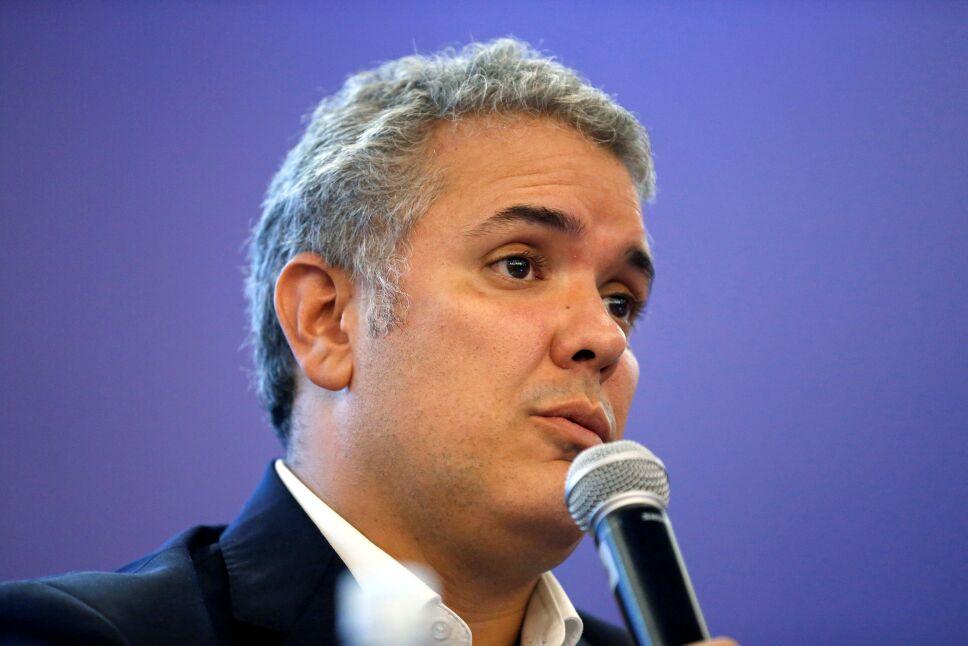 Colombia segunda vuelta, candidato Iván Duque