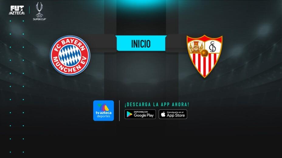 Cobertura en vivo | Bayern Munich vs Sevilla en la Supercopa de la UEFA