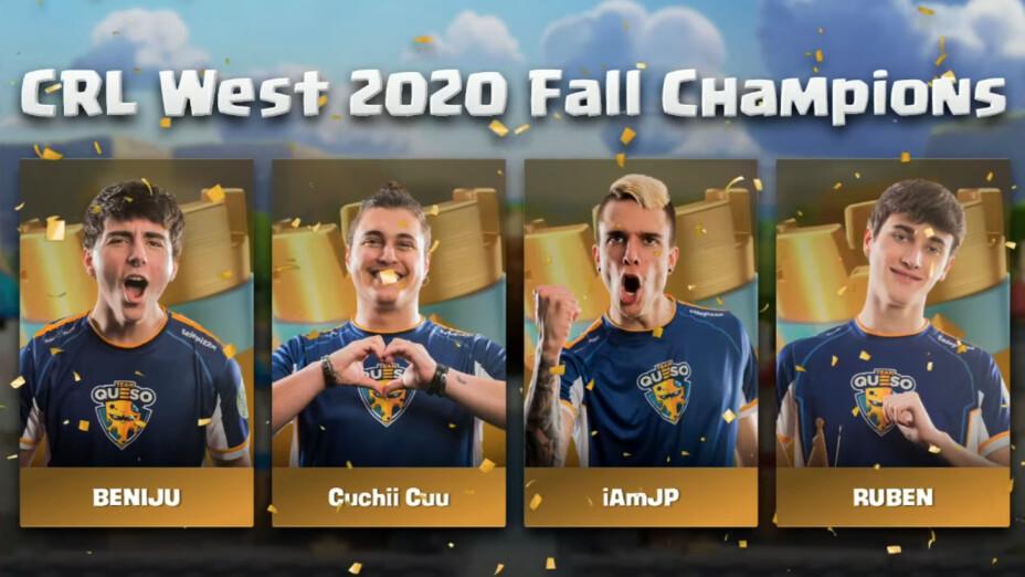 Team Queso Clash Royale fall season campeones