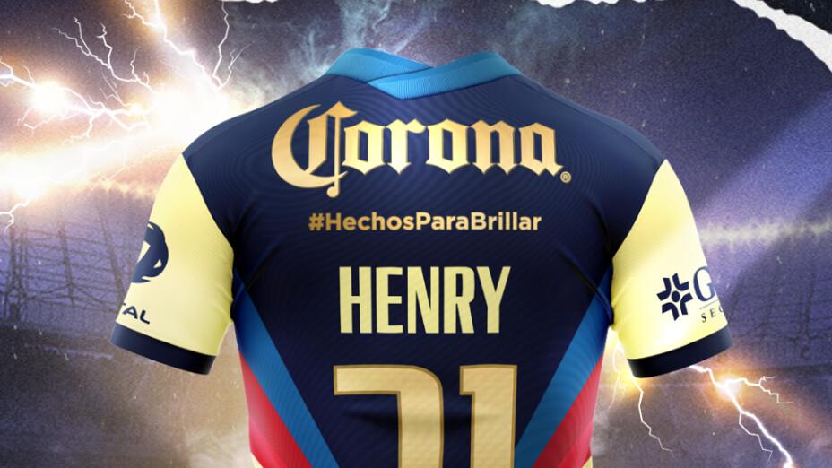 CORONA Y EL CLUB AMÉRICA PRESENTAN un JERSEY edición especial: HECHOS PARA BRILLAR