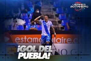 Gol del Puebla 1-0
