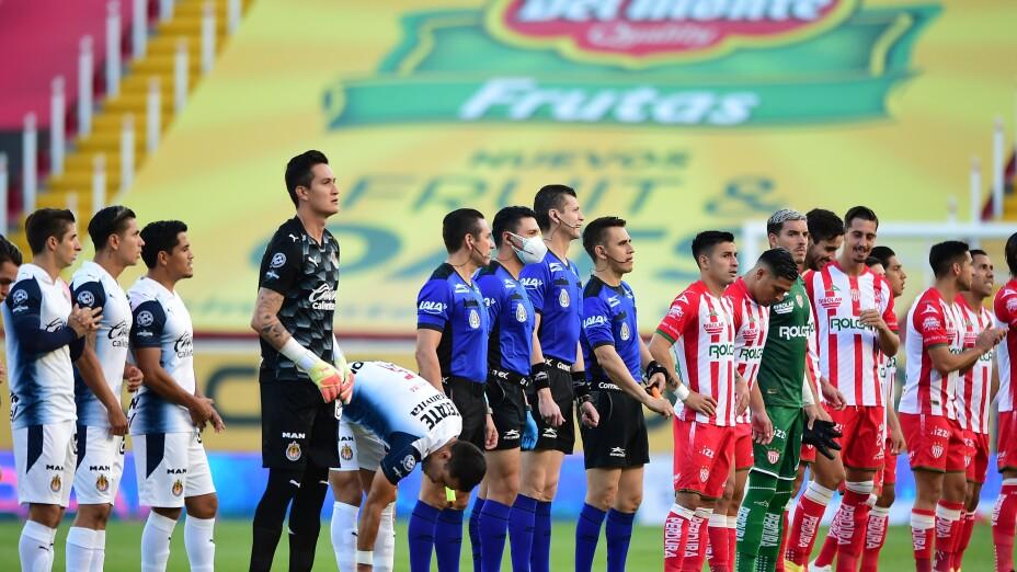 Chivas vs Necaxa EN VIVO - Partido de Hoy Liga MX Guardianes 2020