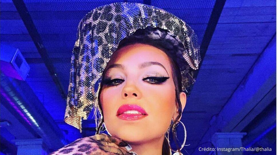 Thalía aprende a hacer su propio disco en esta cuarentena
