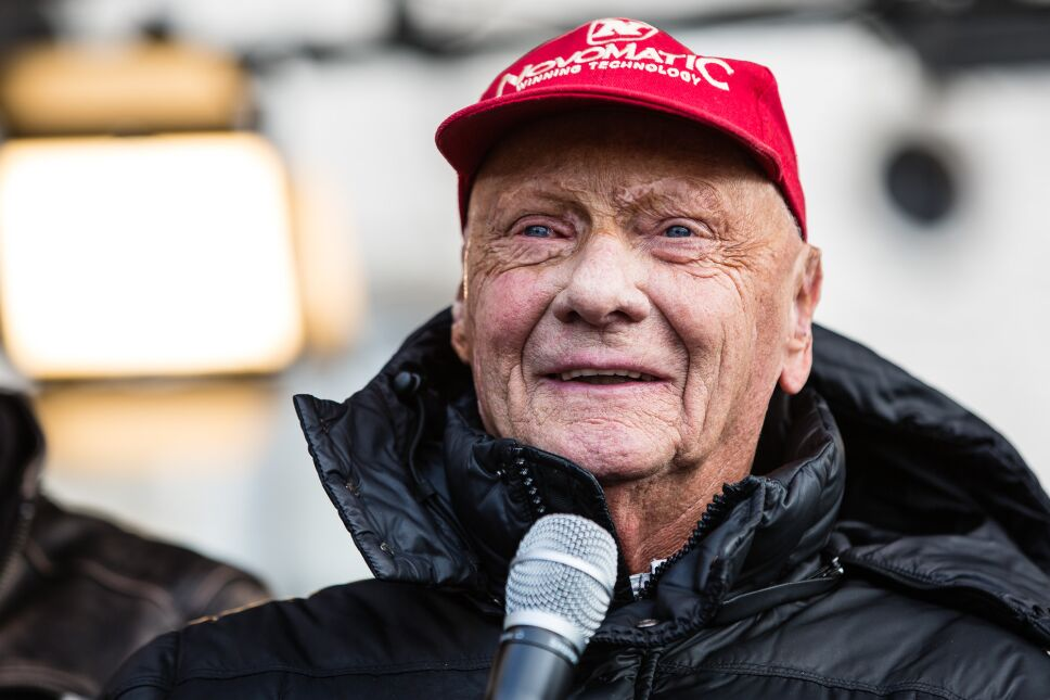Niki Lauda, corredor de autos