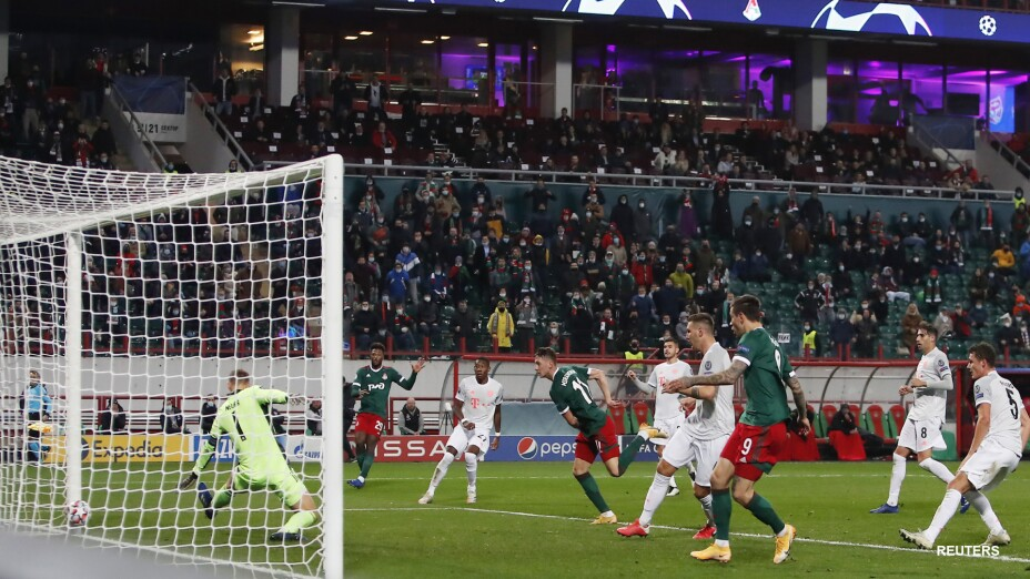 Bayern Munich vs Lokomotiv