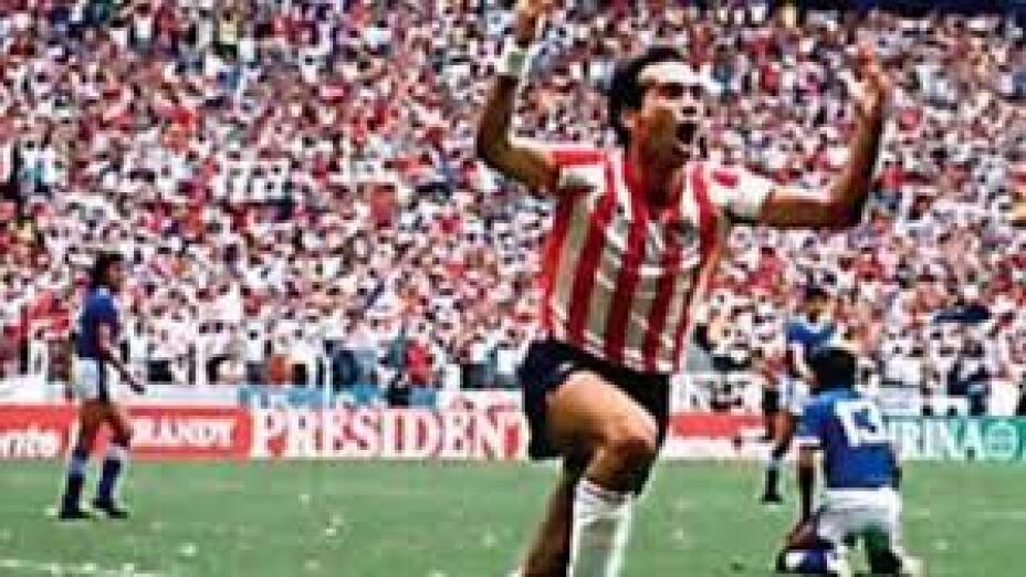 ¡Chivas derrotó a Cruz Azul en 1987!