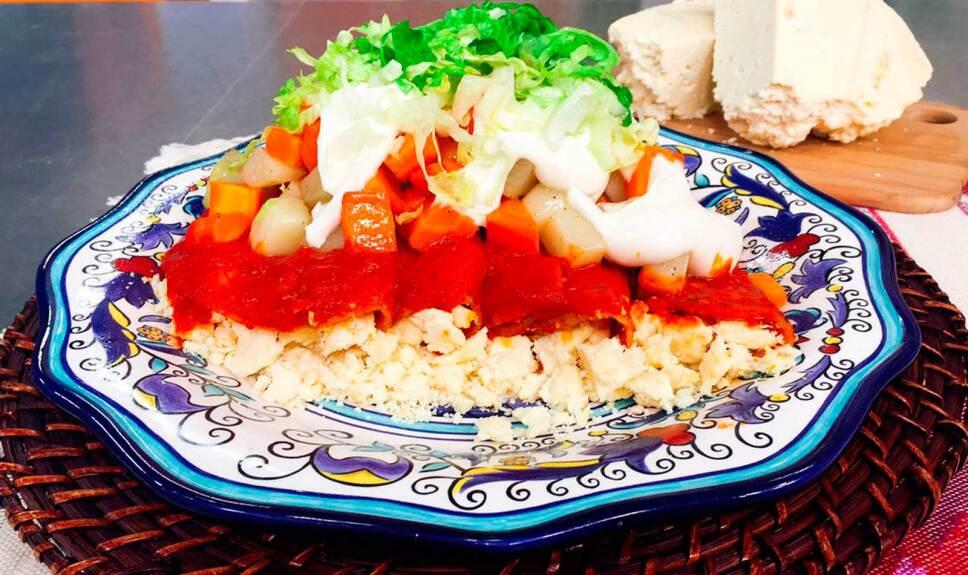 Receta Enchiladas mineras