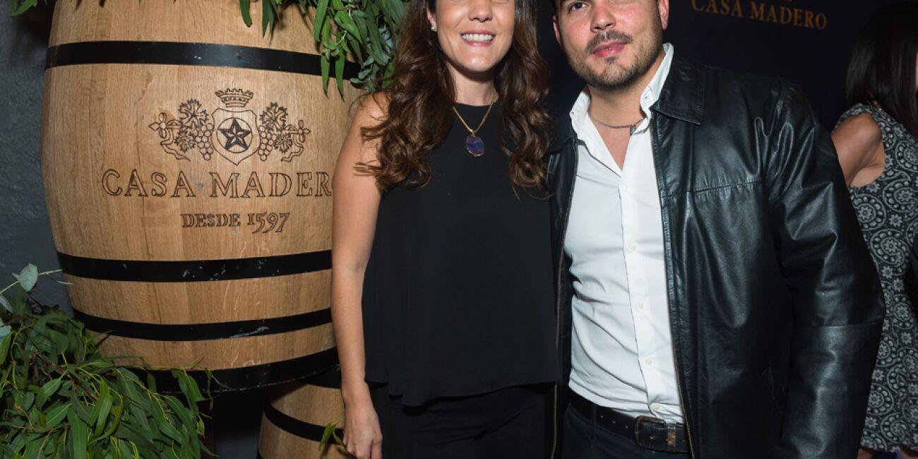 Estela Gordillo y Diego Batista