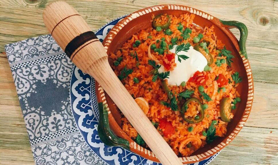 Receta Arroz a la mexicana Cocineros Mexicanos