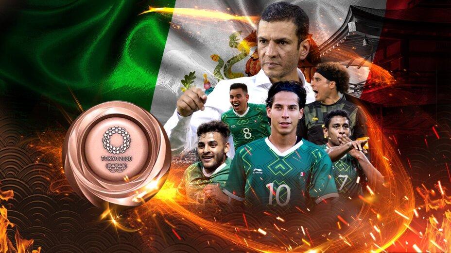 México medalla de bronce