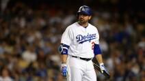 """Adrián """"El Titán"""" González con Dodgers de Los Ángeles en 2017"""