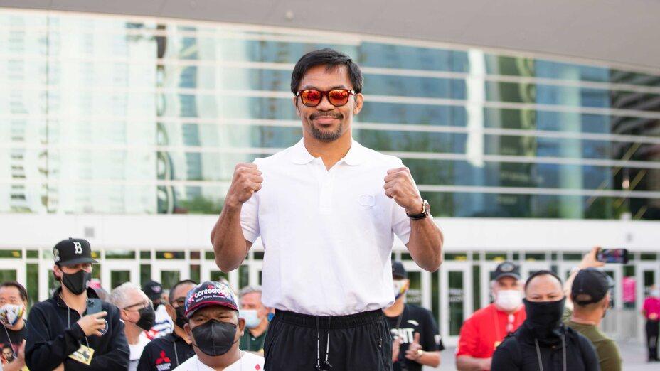 Manny Pacquiao vs Yordenis Ugás