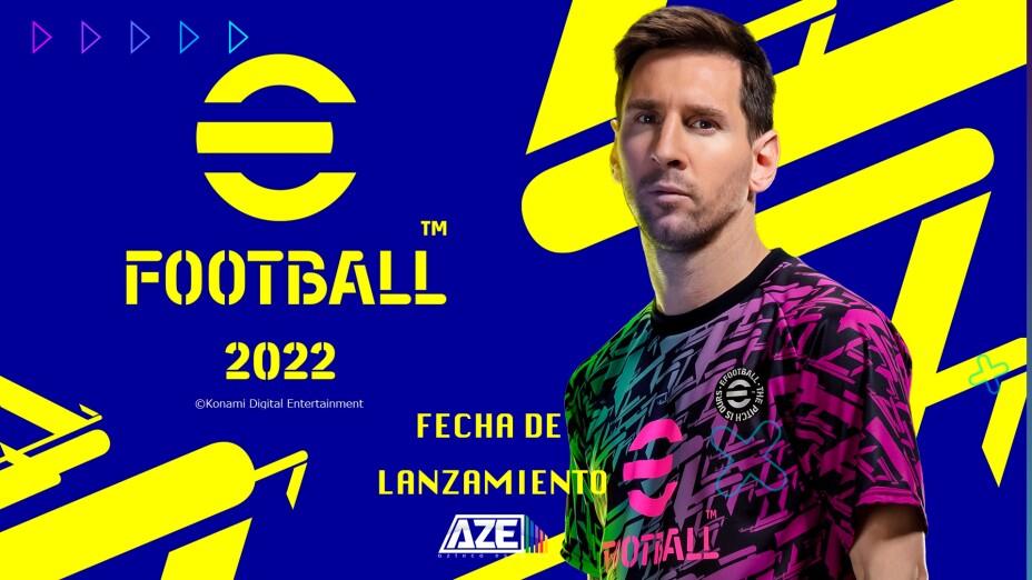 Lanzamiento de eFootball 2022