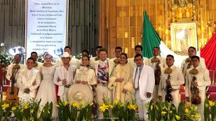 Mañanitas a la virgen Azteca uno