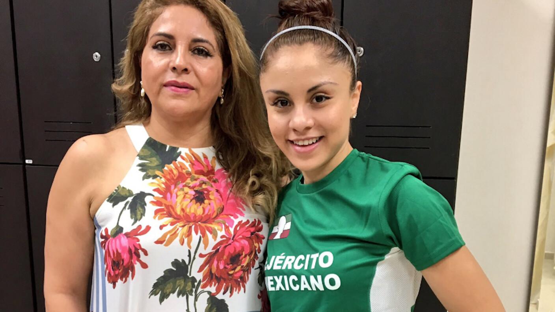Leticia López Rodríguez y Paola Longoria