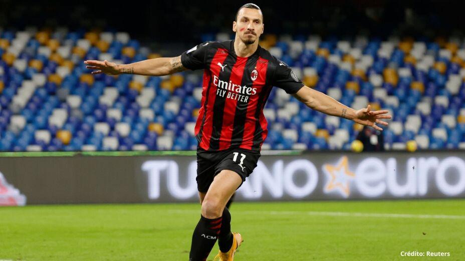 Zlatan Ibrahimovic en el Milan