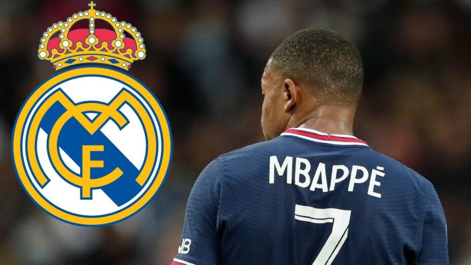 Kylian Mbappé Real Madrid